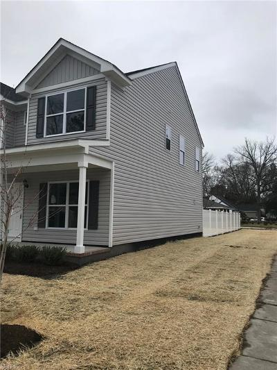 Norfolk Single Family Home New Listing: 445 Honaker Ave