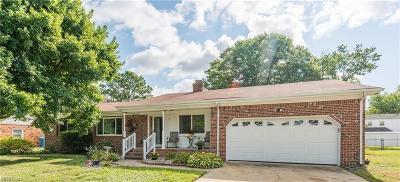Virginia Beach VA Single Family Home New Listing: $320,000