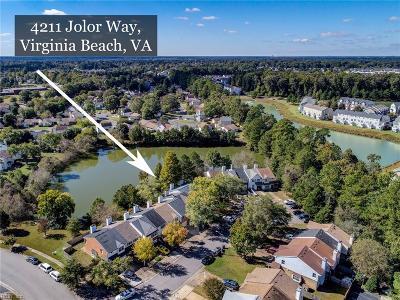 Virginia Beach VA Single Family Home New Listing: $178,000