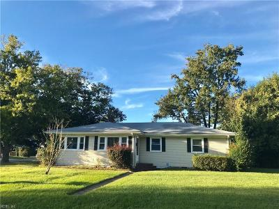 Norfolk Single Family Home New Listing: 3742 Davis St