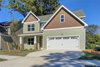 Norfolk Single Family Home New Listing: 1012 Dune St
