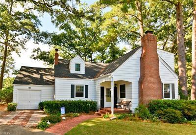 Norfolk Single Family Home New Listing: 131 Ridgeley Pt