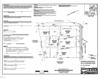 Norfolk Residential Lots & Land For Sale: 814 Hagan Ave