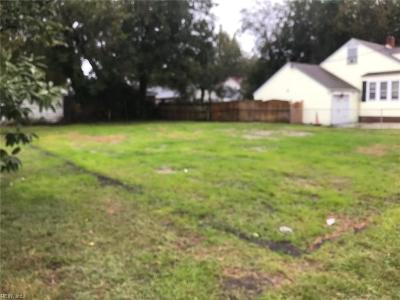 Norfolk Residential Lots & Land Under Contract: 3238 Lens Ave