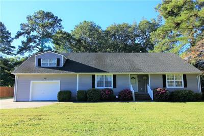 Portsmouth Single Family Home Under Contract: 109 Snead Fairway
