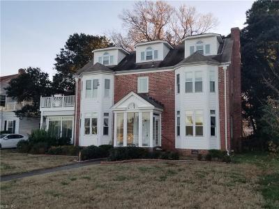 Norfolk Single Family Home For Sale: 549 Mayflower Rd