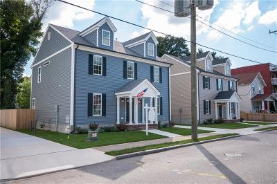 Norfolk Single Family Home Under Contract: 851 W 35th St