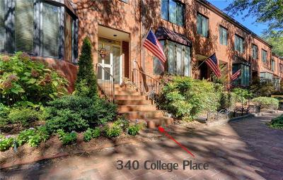 Norfolk Single Family Home Under Contract: 340 College Pl