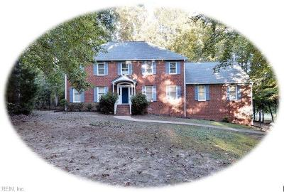 Williamsburg Single Family Home For Sale: 7328 Little Creek Rd