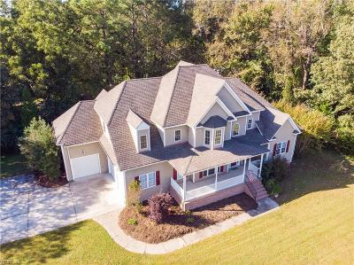 Chesapeake Single Family Home Under Contract: 386 Forest Rd
