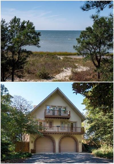 Accomack County, Northampton County Single Family Home For Sale: 14388 Hungars Beach Rd