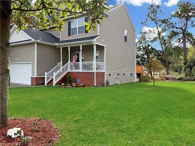 Norfolk Single Family Home For Sale: 3703 Mississippi Ave