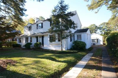 Portsmouth Single Family Home For Sale: 210 Park Rd