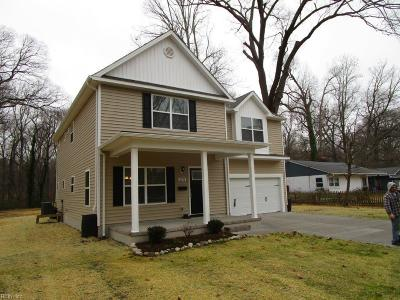 Norfolk Single Family Home For Sale: 6278 Taylor Dr