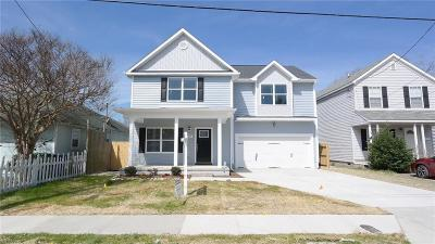Norfolk Single Family Home For Sale: 9269 1st View St