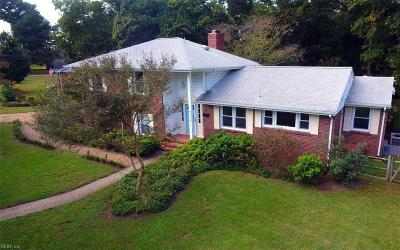 Virginia Beach Single Family Home For Sale: 2309 Indian Hill Rd