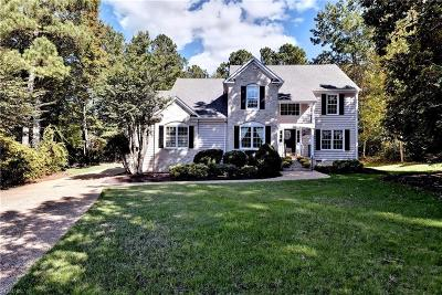 Williamsburg Single Family Home For Sale: 3408 Giles Bland