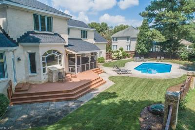 Chesapeake Single Family Home For Sale: 1229 Masters Row