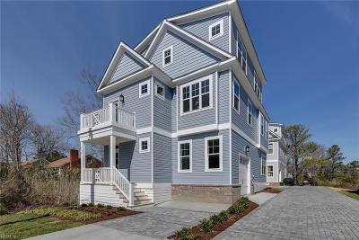 Virginia Beach Single Family Home For Sale: 527 26th St