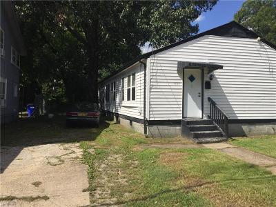 Norfolk Multi Family Home For Sale: 1523 Rush St