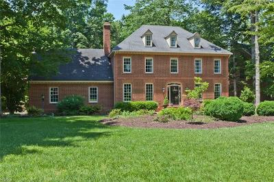 Williamsburg Single Family Home For Sale: 112 Jefferson's Hundred