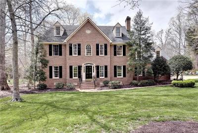Williamsburg Single Family Home For Sale: 108 Jefferson's Hundred