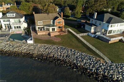 Hampton Single Family Home For Sale: 1230 Chesapeake Ave