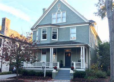 Norfolk Single Family Home Under Contract: 513 Pembroke Ave