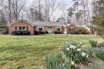Williamsburg Single Family Home For Sale: 141 Horseshoe Dr