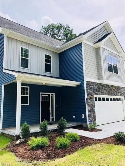 Norfolk Single Family Home For Sale: 3575 N Ingleside Dr