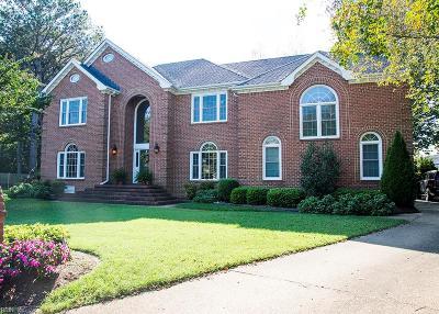 Virginia Beach Single Family Home For Sale: 2620 All Saints Ct