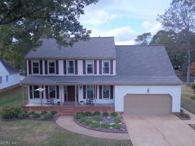 Chesapeake Single Family Home For Sale: 406 Rio Dr