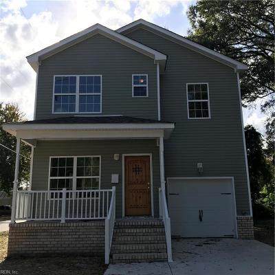 Hampton Single Family Home For Sale: 501 Marion Rd