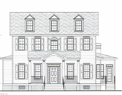 Williamsburg Single Family Home Under Contract: Lot 22 Settlers Market Blvd