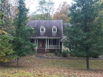 Williamsburg Single Family Home For Sale: 126 S Yorkshire Dr