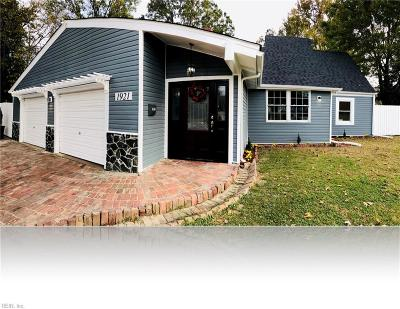 Norfolk Single Family Home For Sale: 1921 McDowell Rd