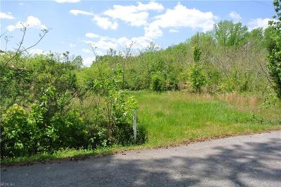 Chesapeake Residential Lots & Land New Listing: 4.87ac Seven Eleven Rd