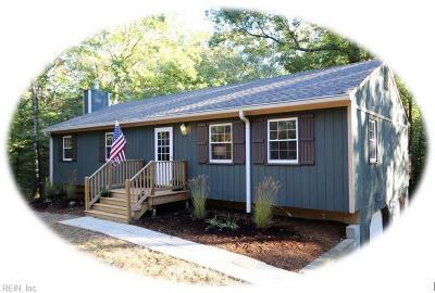 Williamsburg Single Family Home New Listing: 101 Macon Cir