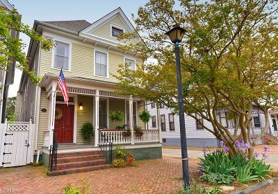 Portsmouth Single Family Home For Sale: 371 Washington St