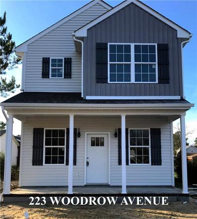 Suffolk Single Family Home New Listing: 223 Woodrow Ave