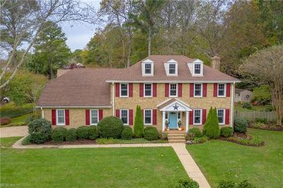Virginia Beach Single Family Home For Sale: 1287 Alanton Dr