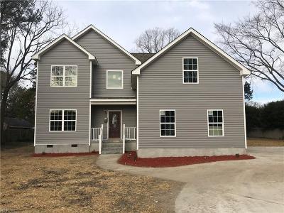 Hampton Single Family Home For Sale: 2105 N Armistead Ave