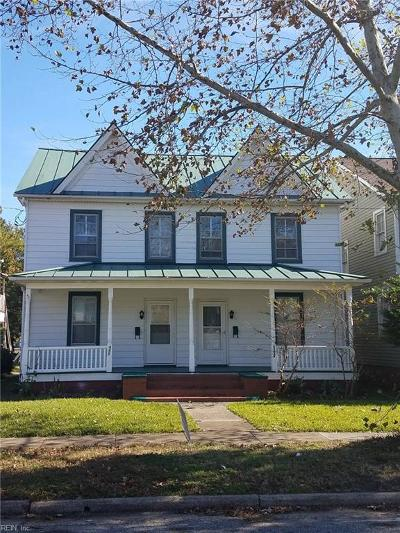 Portsmouth Multi Family Home Under Contract: 447 Broad St