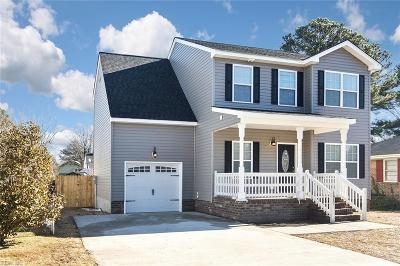 Portsmouth Single Family Home For Sale: 1804 Deep Creek Blvd