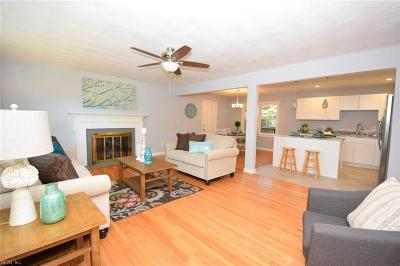 Portsmouth Single Family Home Under Contract: 3605 Forrest Haven Ln