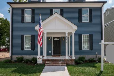 Norfolk Single Family Home For Sale: 859 W 35th St