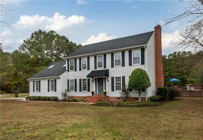 Chesapeake Single Family Home New Listing: 2616 Pine Forest Ln