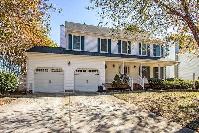 Chesapeake Single Family Home New Listing: 925 Copper Stone Cir