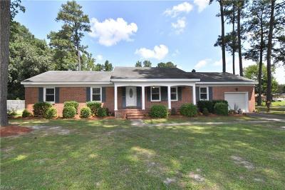 Chesapeake Single Family Home New Listing: 4921 Lake Shore Dr