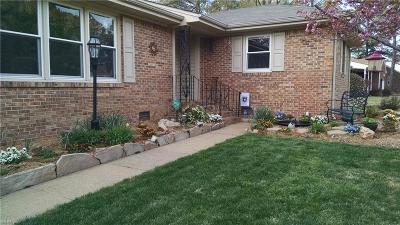 Chesapeake Single Family Home New Listing: 4304 Greendell Rd